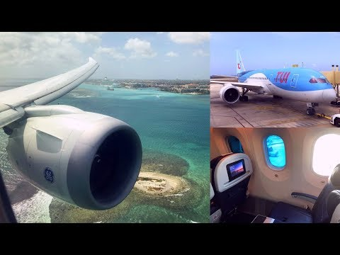 Shortest Boeing 787 Flight: Curacao - Aruba Island Hopper with TUI fly Netherlands