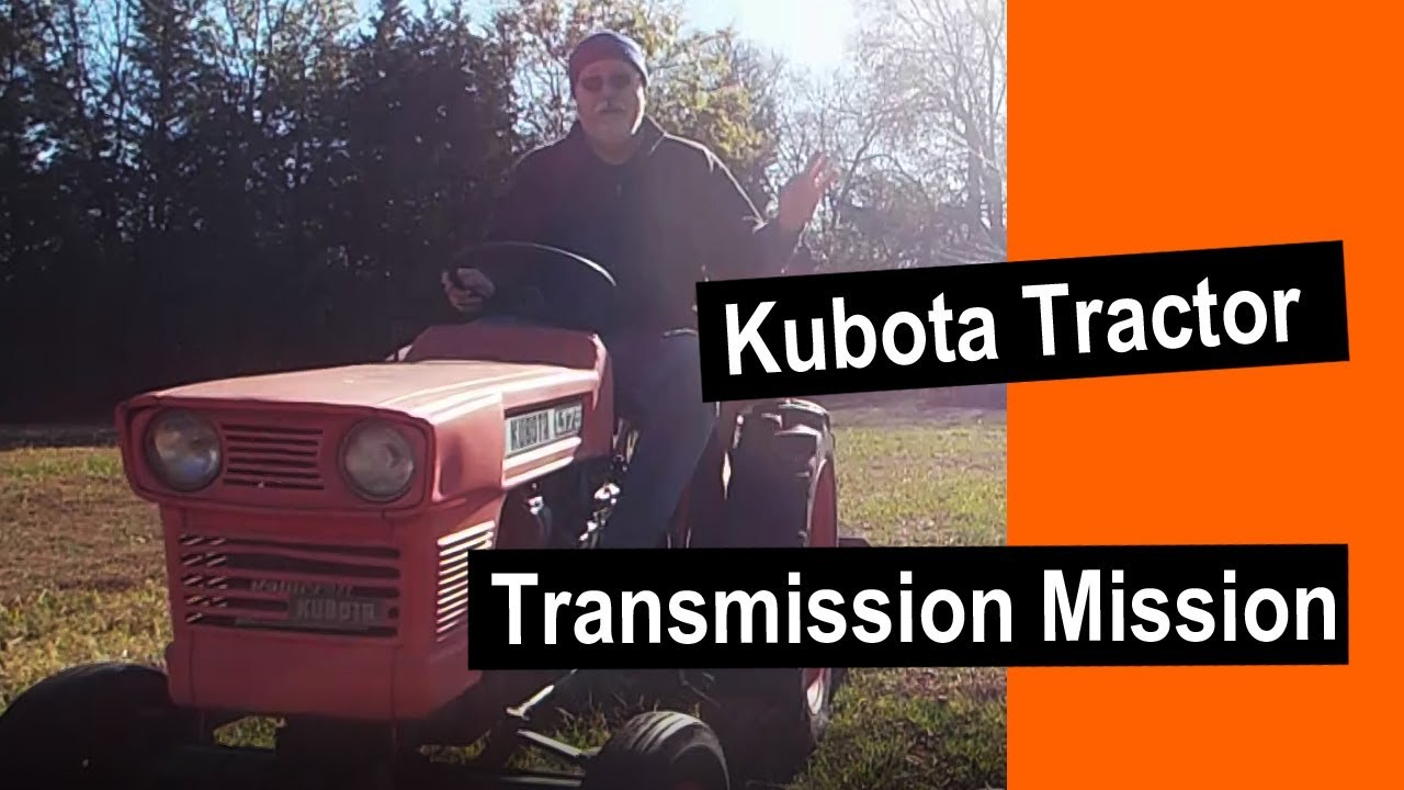 Kubota L175 Transmission Rebuilt Tractor Wiring Diagram Mission Youtube 1280x720