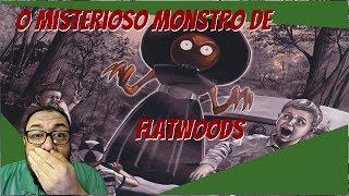 O misterioso monstro de Flatwoods!!!