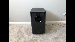 onkyo SKW-750X Home Theater Powered Active Subwoofer