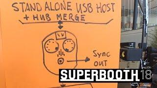 Retrokits: универсальные MIDI/CV/USB конвертеры (Superbooth 2018)