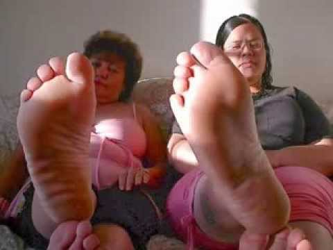 Mature bbw latina feet