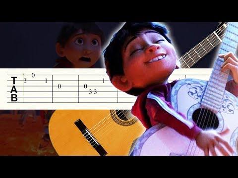 Recuerdame / Coco / Guitarra / Tutorial / Tablatura