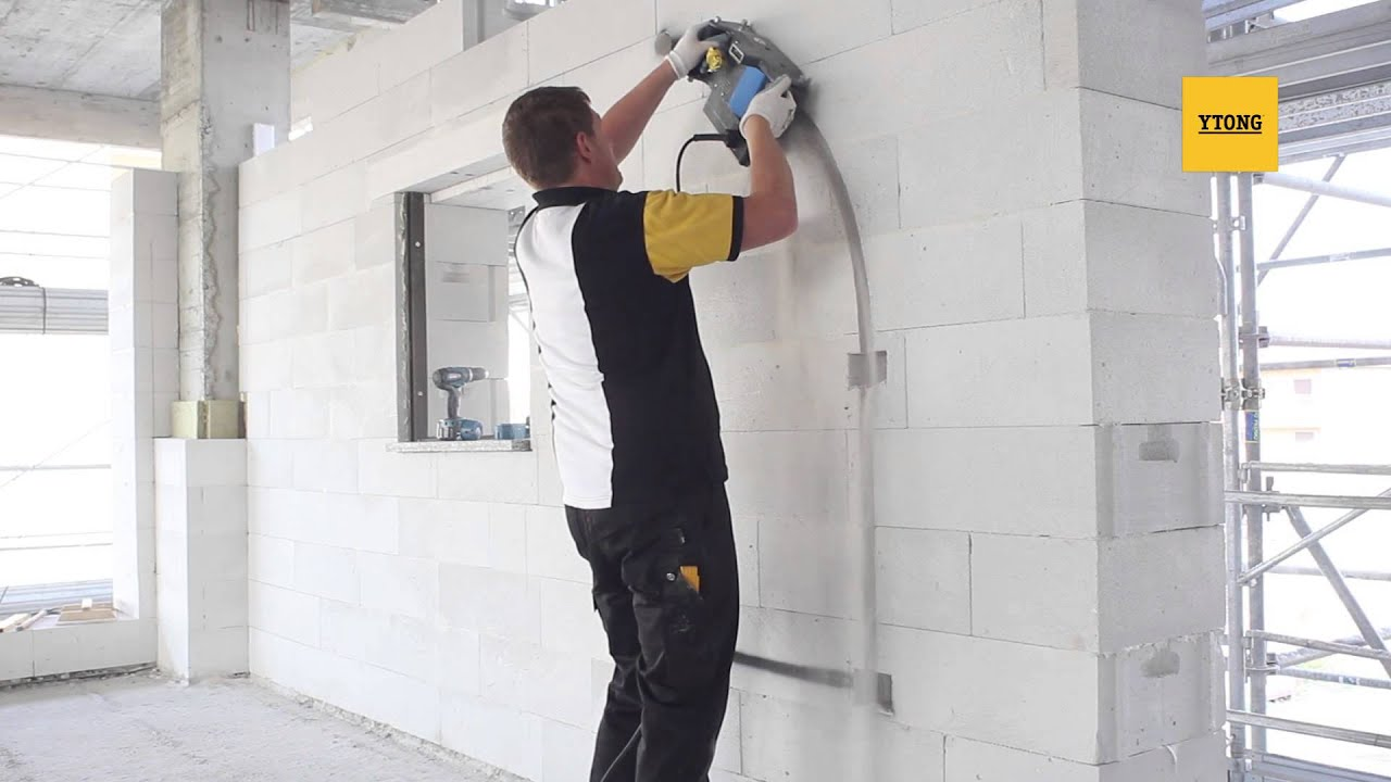 Come realizzare le tracce per impianti nella muratura - Tracce su muri portanti ...