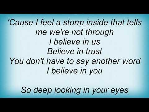 Sanna Nielsen - I Believe It's You Lyrics