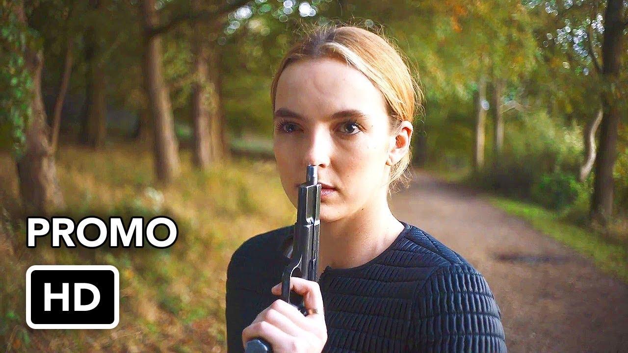 "Killing Eve (BBC America) ""Binge Now"" Promo HD - Sandra Oh, Jodie Comer series"