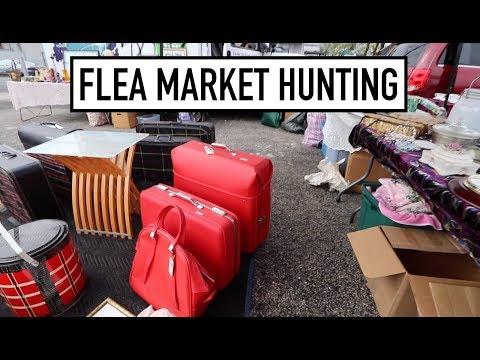 FLEA MARKET HUNTING - Sourcing Quaker City And Palmyra Flea Markets For Treasures!
