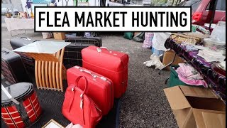 FLEA MARKET HUNTING - Sourcing Quaker City And Palmyra Flea Markets For Treasures!