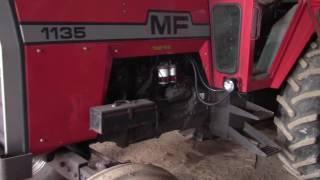Massey Ferguson 1135 Cold Start