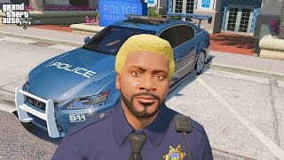 GTA 5 REAL LIFE MOD #258 LAST DAY AS A POLICE OFFICER Please help m...
