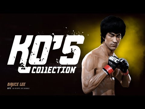 EA SPORTS UFC Mobile. KO'S Collection. Bruce Lee.