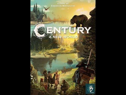 Century: A New World - играем в настольную игру.