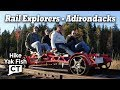 Rail Explorers Rail Biking in the Adirondacks - Saranac Lake, NY