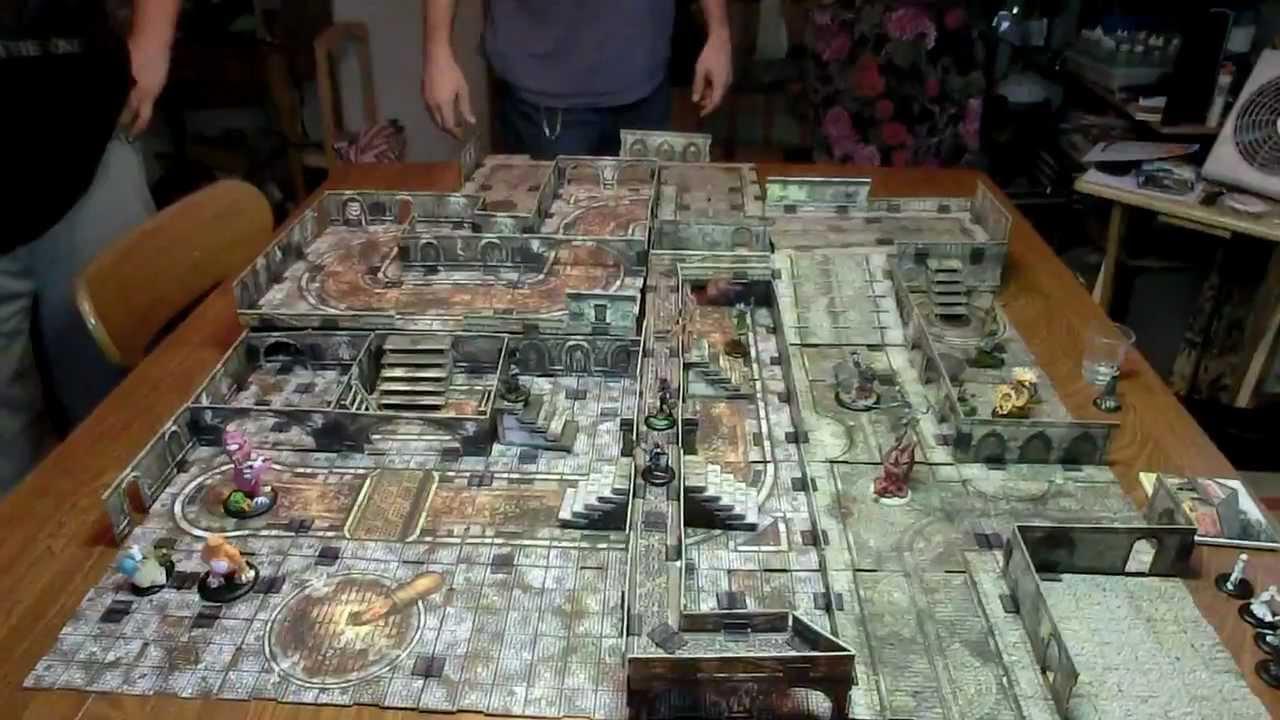 Terraclips Malifaux board  YouTube