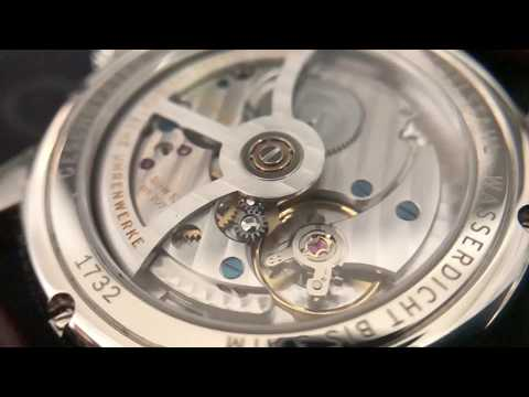Nomos Zurich Worldtimer in slow motion