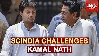Scindia Challenges Kamal Nath; Threatens To Hit Streets If Poll Promises Are Not Met