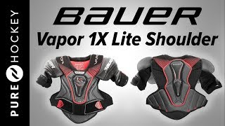 Bauer Vapor 1X Lite Hockey Shoulder Pads | Product Review