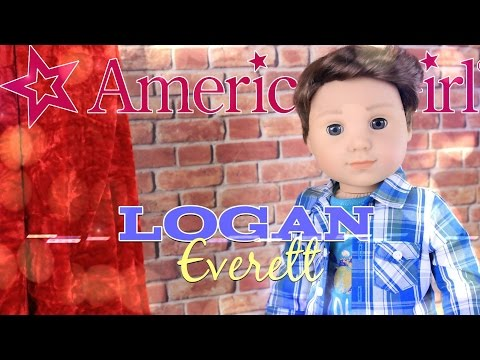 Unbox Daily: American Girl's first 18 inch Boy Doll Logan Everett - Doll Review - 4K