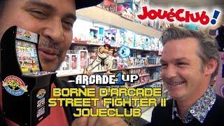 (EP55) Borne Arcade1Up Street Fighter II à JouéClub