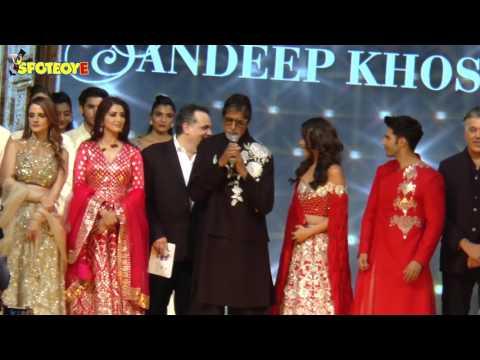 Amitabh Bachcan Dances on Tamma Tamma with Varun- Alia | Bollywood News