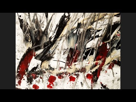 Abstract Art Painting Demo Series 1 – The Scars