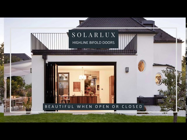 Solarlux Highline bifold door