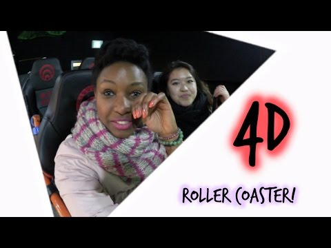 4D Roller Coaster in Korea!
