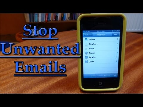 Stop Unwanted Emails on iPhone