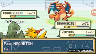 What Happens If You Defeat Red (ash) in Pokemon Rusty + Cheats Myboy