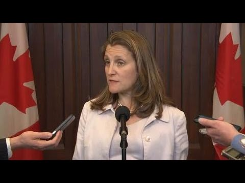 Trump's tariffs on Mexican imports a bilateral trade issue: Freeland