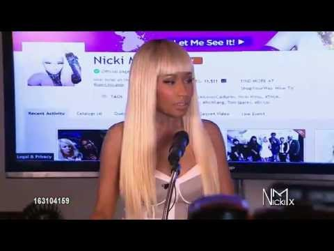 Nicki Minaj attends her Kmart collection private event