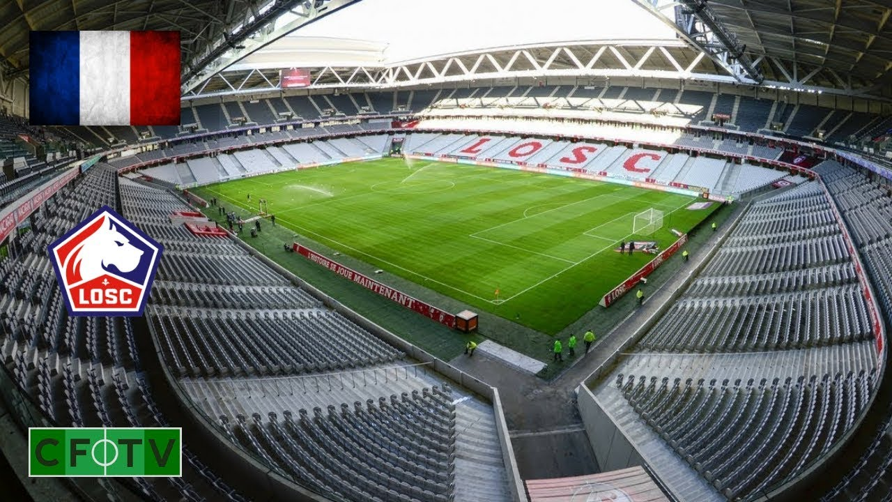 Stade Pierre Mauroy - Lille OSC - YouTube
