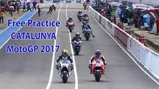 QUALIFYING FREE PRACTICE MOTOGP CATALUNYA 2017 SPANYOL
