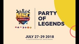MOBILE LEGENDS SOUTHEAST ASIA CUP DAY 3 - MATCH SEMIFINAL DIGITAL D...