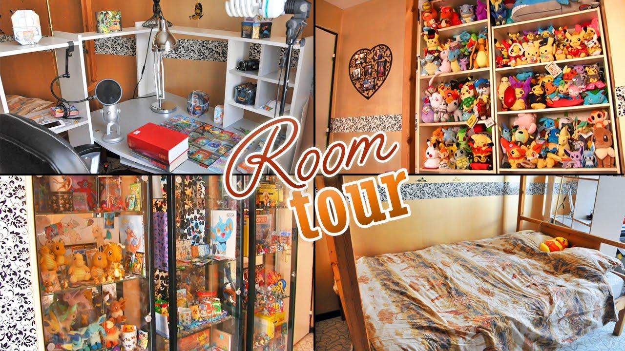 Room tour 2016 la chambre pok mon de missjirachi david lafarge youtube - Chambre syndicale de la couture site officiel ...