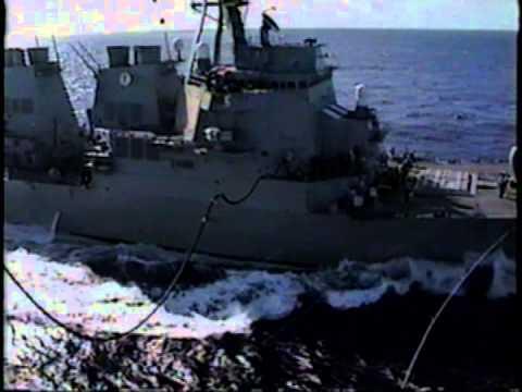 USS Rainier (AOE-7) '99 Tiger Cruise Part 2