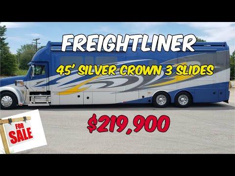 Motorhome 45' Silver Crown 3 Slides $229,000.00 For Sale