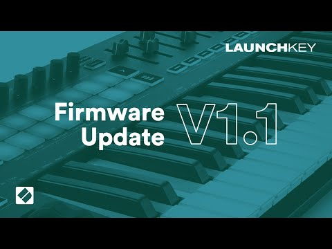Launchkey [MK3] - v1.1 Firmware Update // Novation