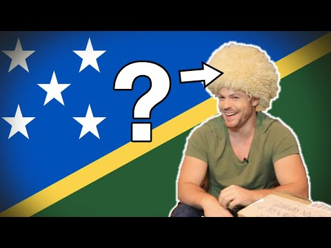 Flag/ Fan Friday SOLOMON ISLANDS (Geography Now!)
