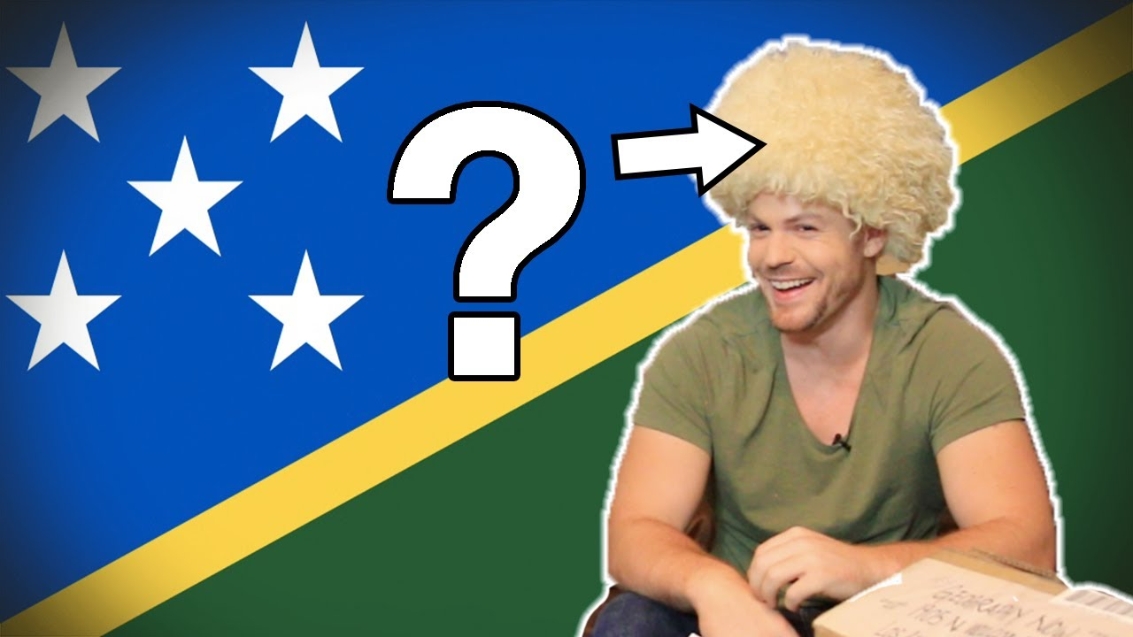 Flag/ Fan Friday SOLOMON ISLANDS (Geography Now!)