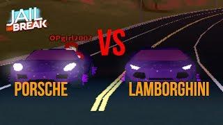Lamborghini Max Vs Porsche Max Roblox Jailbreak (WHO WILL WIN!)