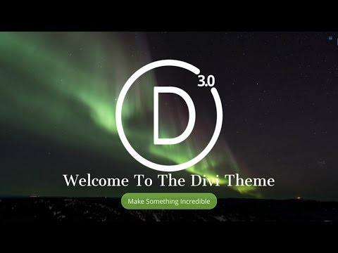 How To Make A WordPress Website 2016 | NEW Divi Theme 3.0 Tutorial – AMAZING!