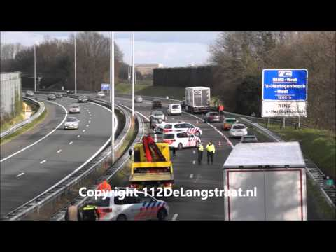 Ongeval A59 Vlijmen