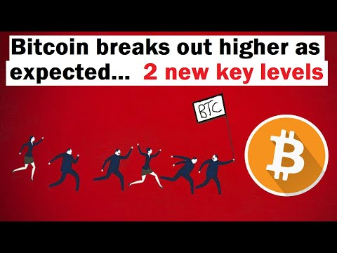 Bitcoin Breaks Out Higher as Expected... 2 New Key Levels to Watch