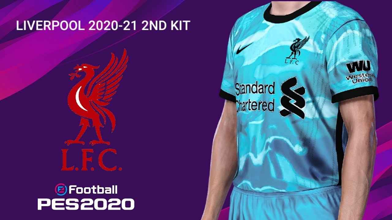 Liverpool 2020 21 2nd Kit Pes 2020 Youtube