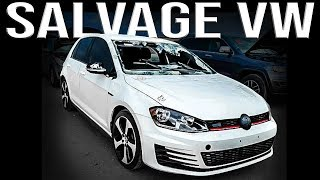Buying a Salvage VW on Copart | What to Look For!