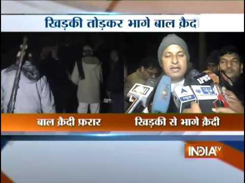 91 Minor Inmates Escape from Bal Sudhar Grah in Meerut - India TV