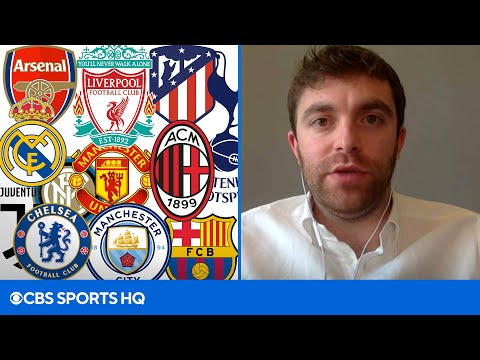 The latest on Soccer's Super League with Fabrizio Romano  CBS Sports HQ