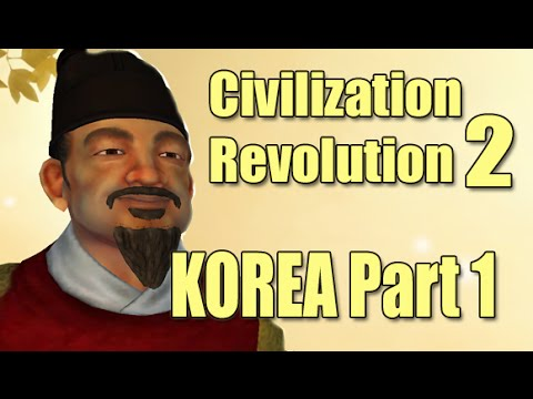 Civilization Revolution 2 - Sejong Korea #1 (iOS Strategy)