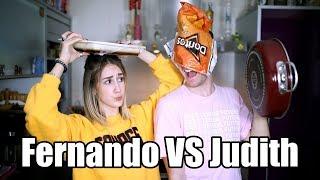 FERNANDO VS JUDITH: DORITOS MAC N' CHEESE | Hermanos Jaso
